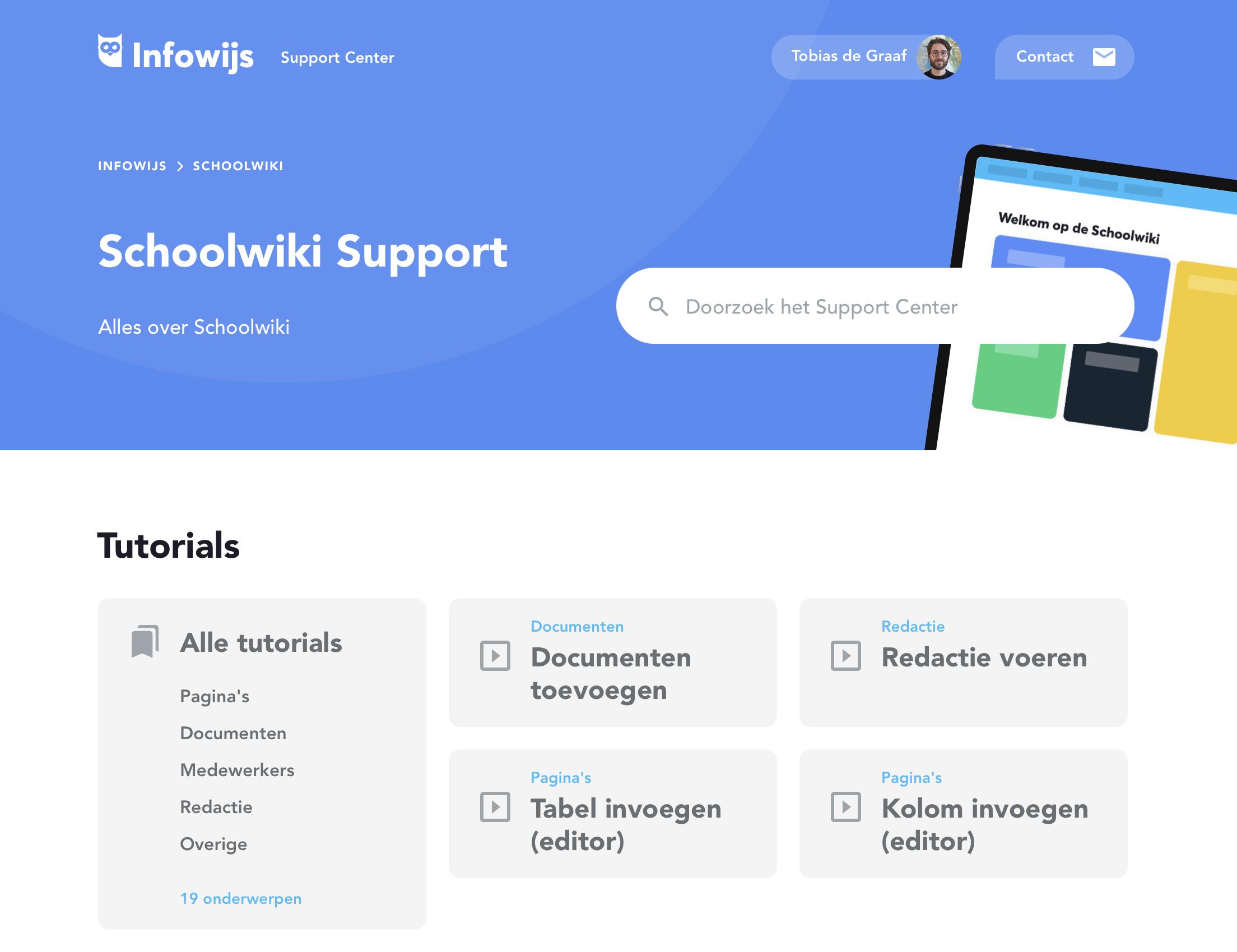 Schoolwiki support